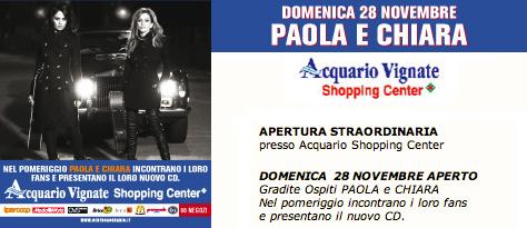 Paola chiara archivio novembre 2010 for Acquario vignate